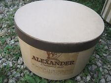 Vintage ?? Alexander Brown Mixed ??? Empty Box good for decor