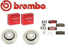 Genuine Brembo Front Rotors + Brembo Front Brake Pads Toyota Camry Avalon ES350