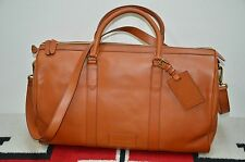 Ralph Lauren Full Leather Gentleman's Shoulder Duffle Bag