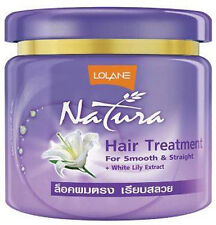 LOLANE Natura Hair Treatment for Smooth and Straight with White Lily 100g