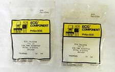Philips ECG Component Low Pwr Schottky Octal 3 State Driver Lot of 2