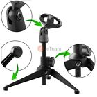 New Adjustable Metal Desktop Table Mic Microphone Clamp Clip Holder Stand Tripod