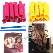 18PCS 40CM DIY magic Extra large volume of curly hair styling hair curlers roll