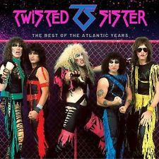 Twisted Sister - The Best Of The Atlantic Years - New CD Album - PreOrder - 26/8