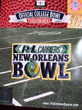 NCAA College Football New Orleans Bowl Patch 2014/15 Nevada Louisiana-Lafayette