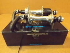 New-Old-Stock Shimano Deore XT UniGlide 6-Speed Hubset..32 Hole w/130 mm Spacing