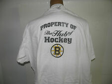 New Boston Bruins The Hub of Hockey Logo T-Shirt  Size L (NWOT)