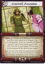 Emerald Ascension L5R CCG TNO The New Order
