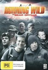 RUNNING WILD WITH BEAR GRYLLS - SEASON 1-   DVD - UK Compatible - New sealed