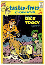 Tasty Freez #6 (Harvey 1957, fn- 5.5) includes 20pgs Dick Tracy