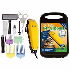 Profesional 11pc Mascota Perro Clippers animal Hair Trimmer Clipper Grooming Kit Nuevo