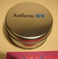 ANTHEM BLUE CROSS EMPTY CANDY TIN ADVERTISING COLLECTIBLE FREE SHIPPING