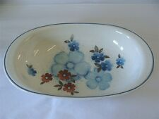 NORITAKE CHINA VERSATONE - GLIMMER - OVAL VEGETABLE BOWL - EXCELLENT