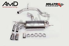 Milltek Mk5 Golf GTi Non Resonated Cat Back Exhaust System SSXVW147 TUV