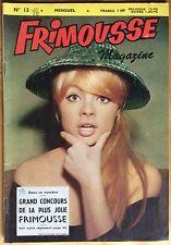 FRIMOUSSE MAGAZINE n°13 du 5 août 1962 Très bon état