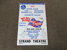 No SEX Please we're BRITISH 4th year inc Andrew Sachs STRAND Theatre Poster