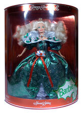 BARBIE - Poupée Happy Holidays 1995 blonde Mattel Limited neuve Misb