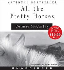 ALL THE PRETTY HORSES by Cormac McCarthy - Unabridged 10 Audio CD Frank Muller