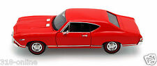 1968 Chevy Chevelle SS 396 Hard top + bonus 1:24 scale Lindberg display case