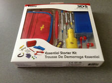 Nintendo 3DS & DSi - Rainbow Accessory12 Piece Starter Kit (Red/Blue/Yellow) NEW