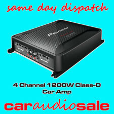 PIONEER GM-D8604 CLASS D 1200 WATT 4/3/2 CHANNEL BRIDGEABLE POWER AMPLIFIER