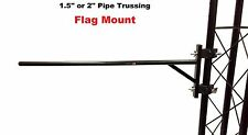"Trussing Truss Flag Banner Mounting System 1.5"" or 2"" Pipe For DJ Light Stands"