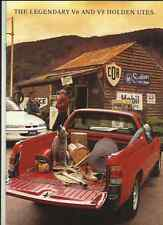 HOLDEN V6 AND V8 UTES  AUSTRALIAN SALES BROCHURE JULY 1993 FOR 1994