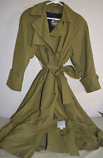 London Fog Ladies Trench Style Rain Coat Size 4 Pet