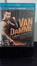 Van Damme 5 Movie Action Pack - Bluray+Digital Codes - Brand New - Free Shipping