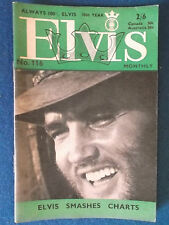 Elvis Presley -  Elvis Monthly Magazine - 10th Year - Issue 116 - September 1969