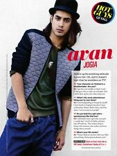 Avan Jogia (Twisted) 1pg SEVENTEEN magazine feature, clippings
