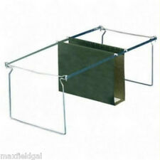 Used 2-pak LETTER Hanging file frames for short depth file cabinet