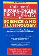 NEW Callaham's Russian-English Polytechnical Dictionary by Ludmilla Ignatiev Cal