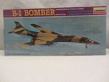 Lindberg   B-1 Bomber  Model Kit  NIB Sealed  1:144 scale  (715H)  5401
