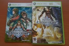 INFINITE UNDISCOVERY ( EXCLUSIF XBOX 360 ) COMPLET