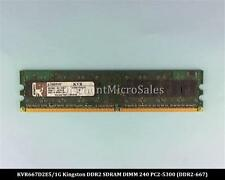Kingston KVR667D2E5/1G DDR2 1GB PC2-5300 ECC 667Mhz RAM Memory