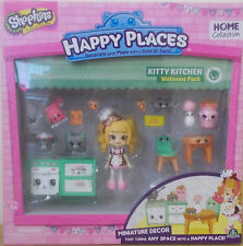 Shopkins ~ Happy Places Home Collection ~ Kitty Kitchen Welcome Pack