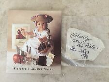 AMERICAN GIRL FELICITY PLANTATION PLAY NOTE & PAMPHLET ~ VERY RARE
