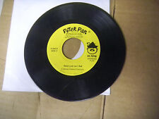 PETER PAN where do you hide in a haunted house/good luck isn't bad   45