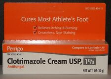 Clotrimazole Cream 1% (Compare to Lotrimin) 1oz (30gm) Tube -FREE WORLDWIDE SHIP