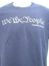 WE THE PEOPLE Constitution Day 2 sided black t-shirt 2010 size Medium