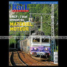 RAIL PASSION N°128 RER B MI 79 BURLINGTON NORTHERN SANTA FE P-8 PFT HOYOUX 2008