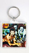 DAVID BOWIE - DIAMOND DOGS LP COVER KEYRING LLAVERO