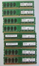 16GB of Crucial DDR2 - PC5300 - 667mhz PC Memory -   8 x 2GB sticks
