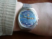 VINTAGE Japan AUTOMATIC watch ORIENT COLLEGE Day & Date Multi-Year Calendar