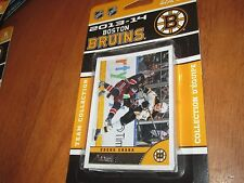 13/14 SCORE BRUINS TEAM SET 14 CARDS SEALED PACK MINT