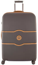 """Delsey Luggage Chatelet Hard+ 28"""" Spinner Suiter Suitcase - Brown"""