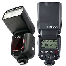 Godox TT600S 2.4G Wireless TTL Flash Speedlite for Sony mi A7II A7S A7R A6000