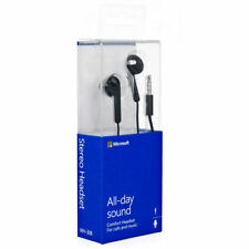 Microsoft Nokia 3.5mm WH-108 Stereo Earphones Handsfree With Mic & Warranty