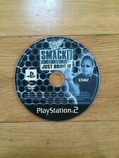 WWF SmackDown: Just Bring It! for PS2 *Disc Only*